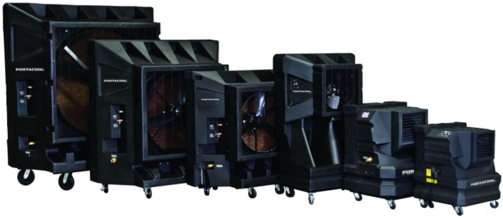 Portacool outdoor coolers